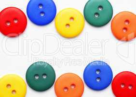 Colourful Buttons - Bunte Knöpfe