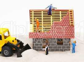 New Home - Neubau mit Handwerkern