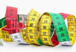 Tape Measure Close-up - Maßband Makro