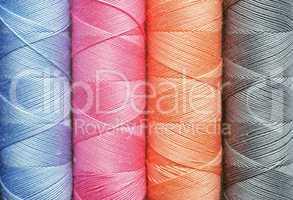Thread Close-up - Nähgarn Makro