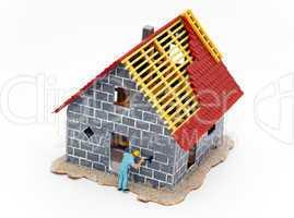 Neubau mit Handwerker - New Home