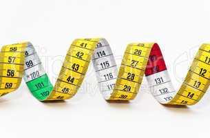 Tape Measure - Maßband Nahaufnahme