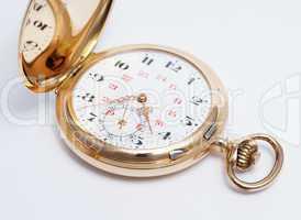 Taschenuhr Echtgold - Golden Pocket Watch