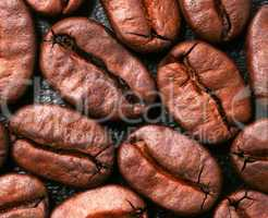 Coffee Beans Close-up - Kaffeebohnen Makro