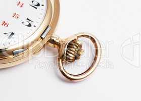 Old golden Pocket Watch Detail - Taschenuhr