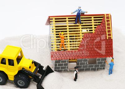 Building Site - Baustelle