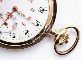Golden Pocket Watch - Nahaufnahme Taschenuhr