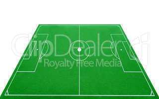soccer pitch 3d - fußballplatz 3d