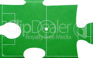 football / soccer / fußball puzzle