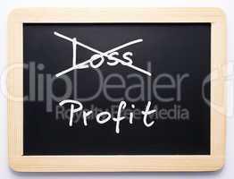 Profit/Loss - Concept - Gewinn/Verlust