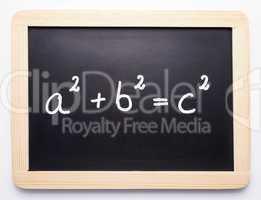 Pythagoras Formel - Mathematik