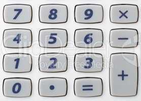 Taschenrechner Tastatur - Pocket Calculator Detail