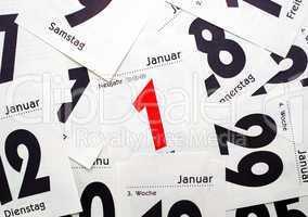 Neujahr - 1. Januar