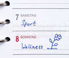 Sport & Wellness - Wochenende