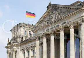 Reichstag / Bundestag in Berlin - Germany