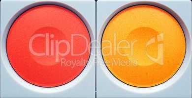 red orange - Tusche Farben
