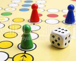 Spielfiguren Nahaufnahme - Parlour Game