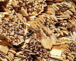 Holz Bretter - Nahaufnahme - Woodcut