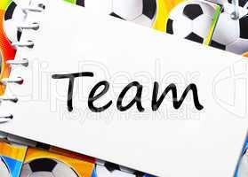 Soccer Team - Fußball Team