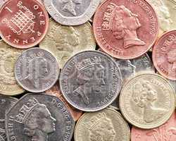 British Pounds and Penny's - Old Money