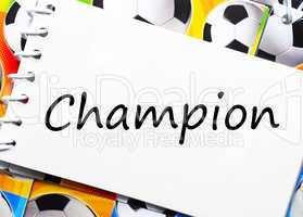 Fußball / Soccer Champion