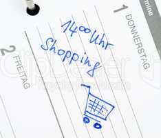 Shopping Date