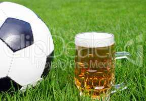 soccer & beer - fußball & bier