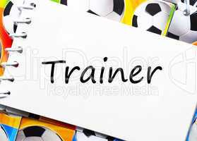 trainer - fußball