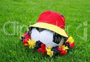 fußball fanartikel - concept - soccer fan