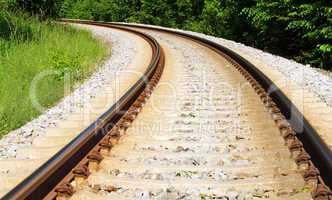 Gleis Anlage - Rails