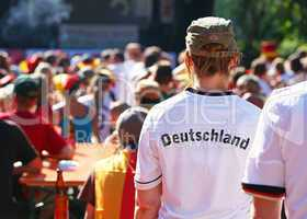 Public Viewing - Deutsche Fans