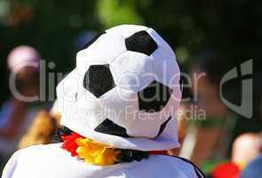 Public Viewing - Fußball Fan / Soccer Fan