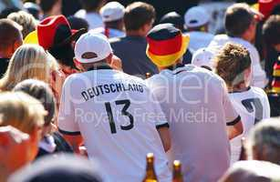 public viewing - german fans