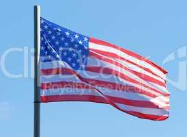 US Flagge im Wind - Flag United States