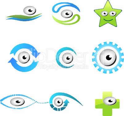 Icons mit Augen