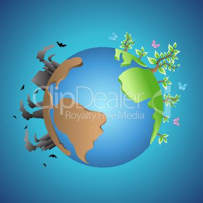 Globus und Umwelt