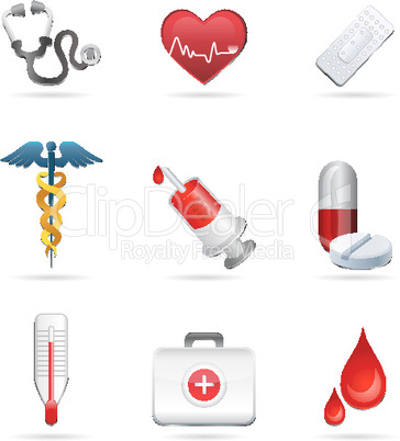Medizinische Cliparts