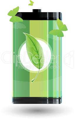 Grüner Behälter