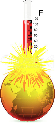 temperature of the earth