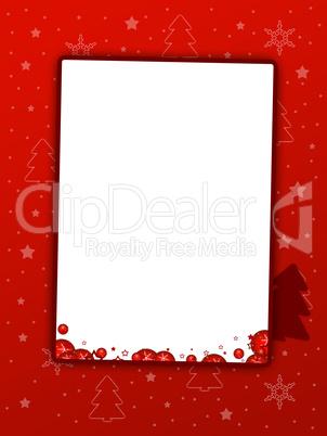 weihnachten einladung rot lizenzfreie bilder und fotos. Black Bedroom Furniture Sets. Home Design Ideas