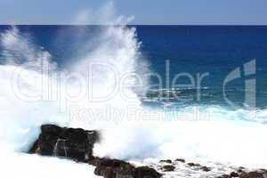 Hawaiian waves