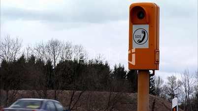 SOS Telephone - Autobahn / Motorway