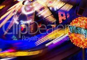 Karussell in der Nacht - merry-go-round - Part III