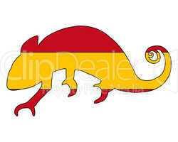 Spanien Chamäleon