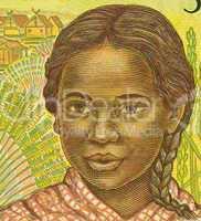 Girl from Madagascar