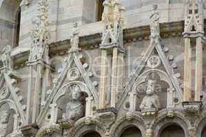 Am Dom zu Pisa Santa Maria Assunta, Toskana, Italien - At the cathedral of pisa (leaning tower) of pisa, tuscany, italy