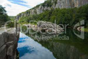 Impressionen am Chassezac, Südfrankreich