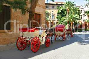 Pferdekutschen auf Mallorca