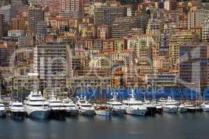 Jachthafen von Monaco