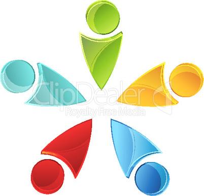 Formen in Farben